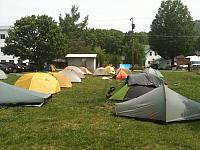 Trail Days Tent City