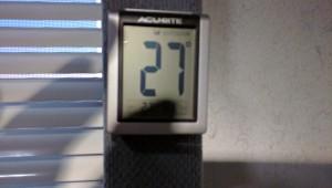 Even cold in Arizona!