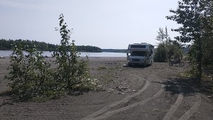Susitna River is 313 miles long. Stretches from the Susitna Glacier to Cook Inlet.