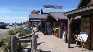 Shops on the Spit.