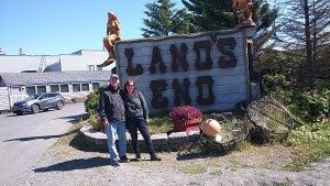 Me and Diana at Lands End.