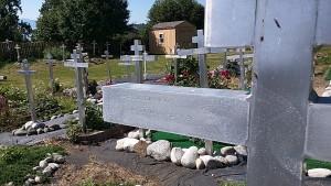Russian Cemetery.