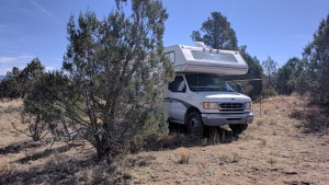 My camp near Payson.