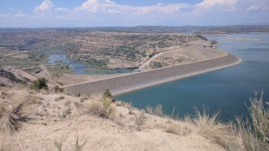 Nice view of the dam and San Juan River below.